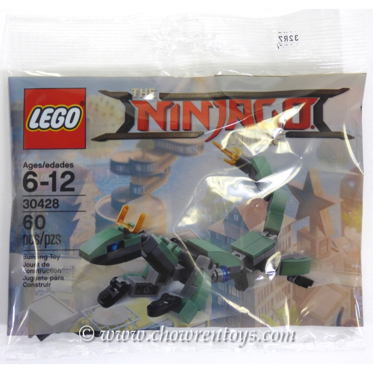 LEGO The LEGO Ninjago Movie Sets: 30428 Green Ninja Mech Dragon NEW (SOLD OUT)