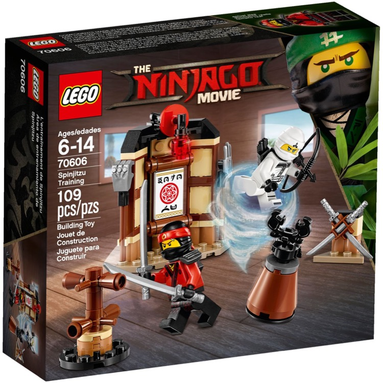 LEGO The LEGO Ninjago Movie Sets: 70606 Spinjitzu Training NEW