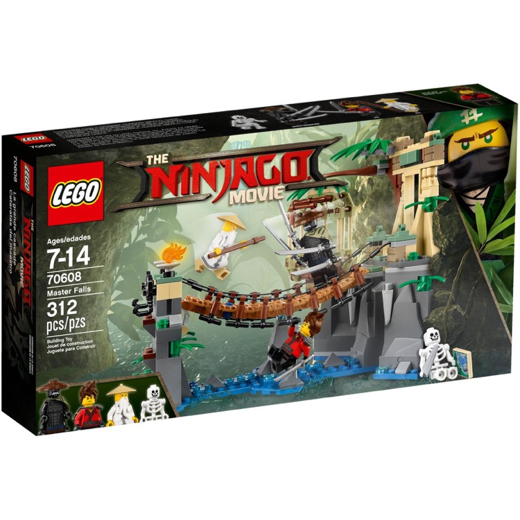 LEGO The LEGO Ninjago Movie Sets: 70608 Master Falls NEW
