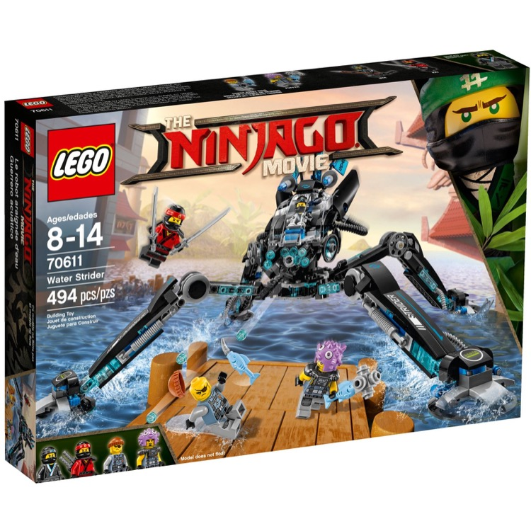 LEGO The LEGO Ninjago Movie Sets: 70611 Water Strider NEW