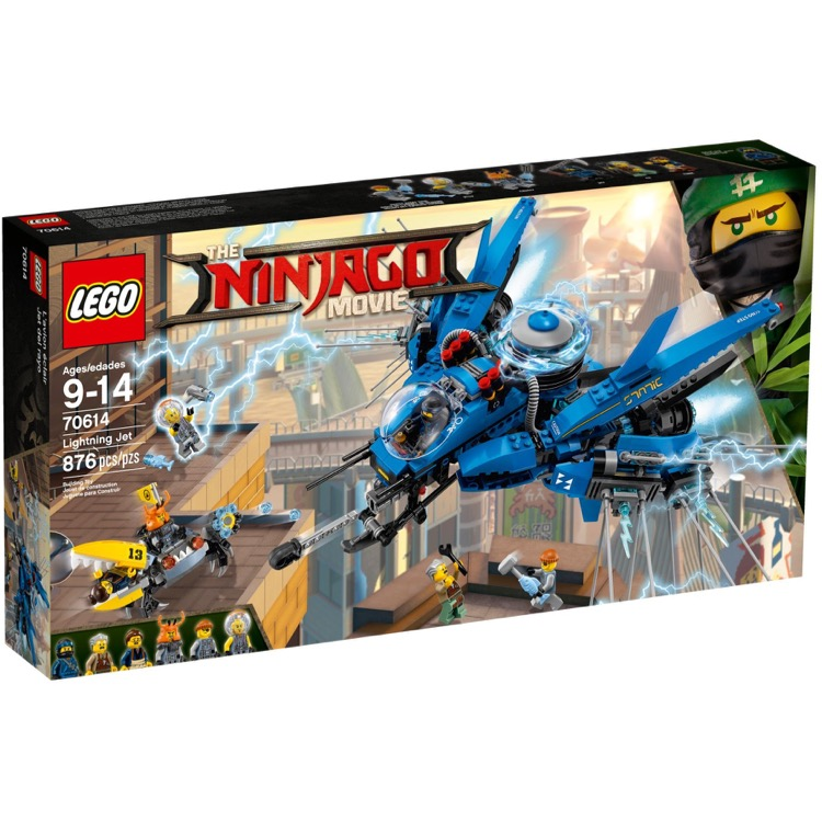 LEGO The LEGO Ninjago Movie Sets: 70614 Lightning Jet NEW