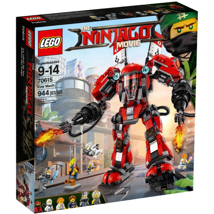 LEGO The LEGO Ninjago Movie Sets: 70615 Fire Mech NEW