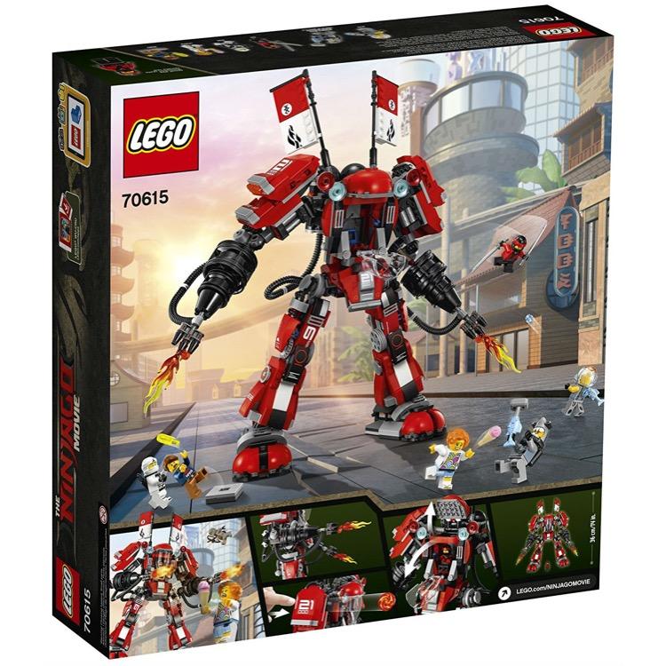 LEGO The LEGO Ninjago Movie Sets: 70615 Fire Mech NEW