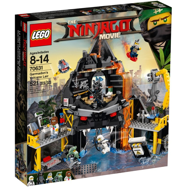 LEGO The LEGO Ninjago Movie Sets: 70631 Garmadon's Volcano Lair NEW