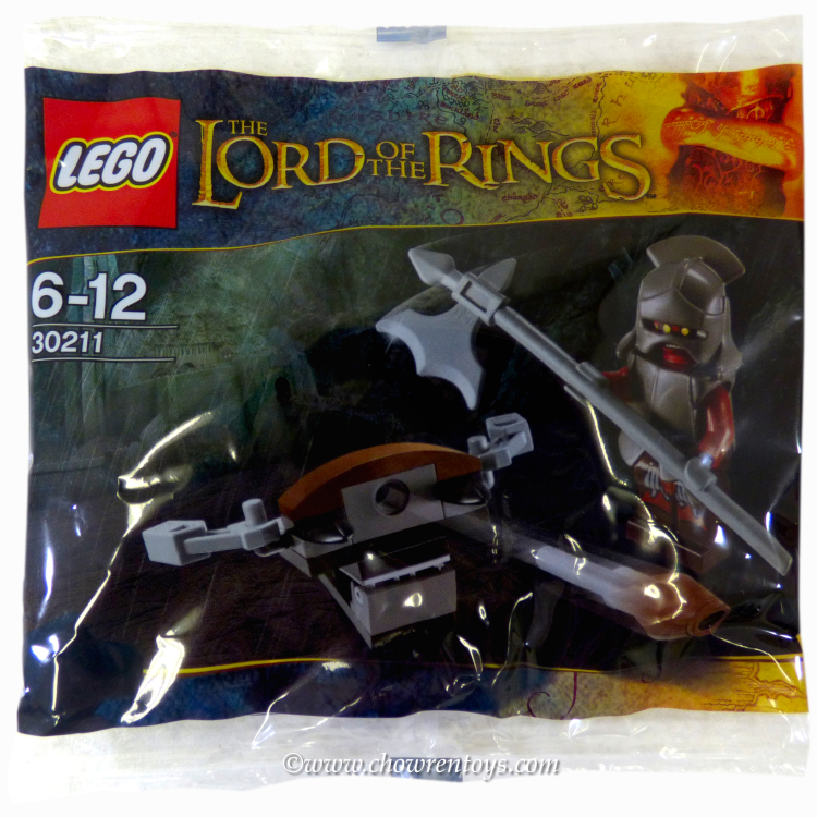 LEGO The Lord of the Rings Sets: 30211 Uruk Hai with Ballista NEW