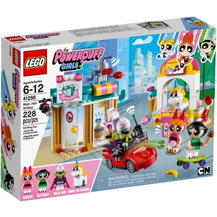 LEGO The Powerpuff Girls Sets: 41288 Mojo Jojo Strikes NEW