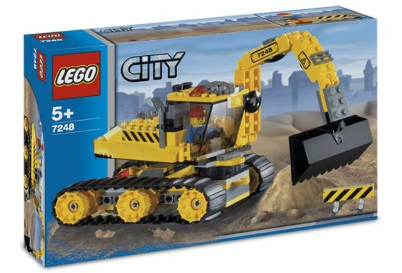 LEGO Town Sets: LEGO City 7248 Digger NEWLEGO Town Sets: LEGO City 7248 Digger NEW
