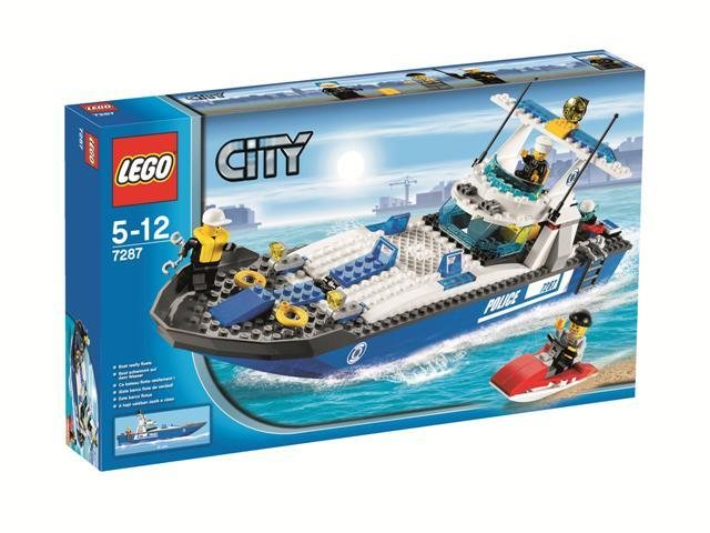LEGO Town Sets: LEGO City 7287 Police Boat NEWLEGO Town Sets: LEGO City 7287 Police Boat NEW