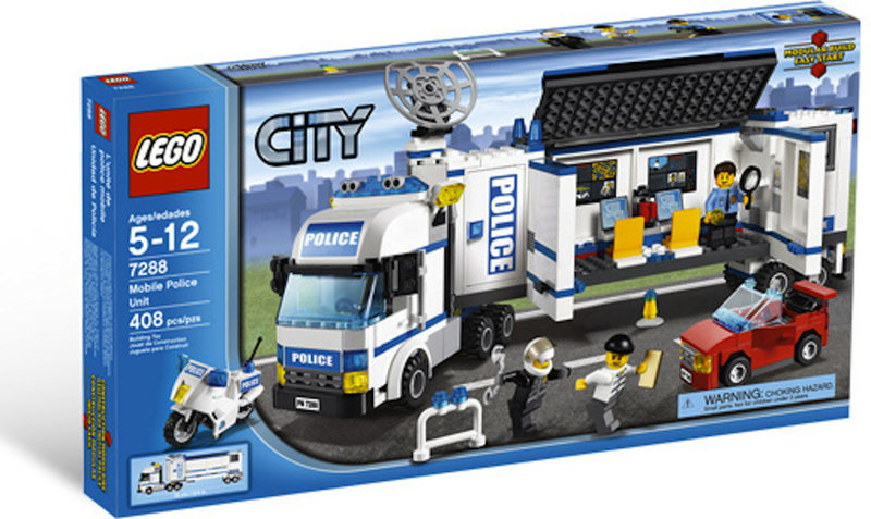 LEGO Town Sets: LEGO City 7288 Mobile Police Unit NEW