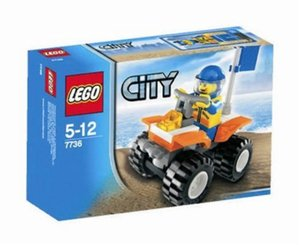 LEGO Town Sets: LEGO City 7736 Coast Guard Quad Bike NEWLEGO Town Sets: LEGO City 7736 Coast Guard Quad Bike NEW