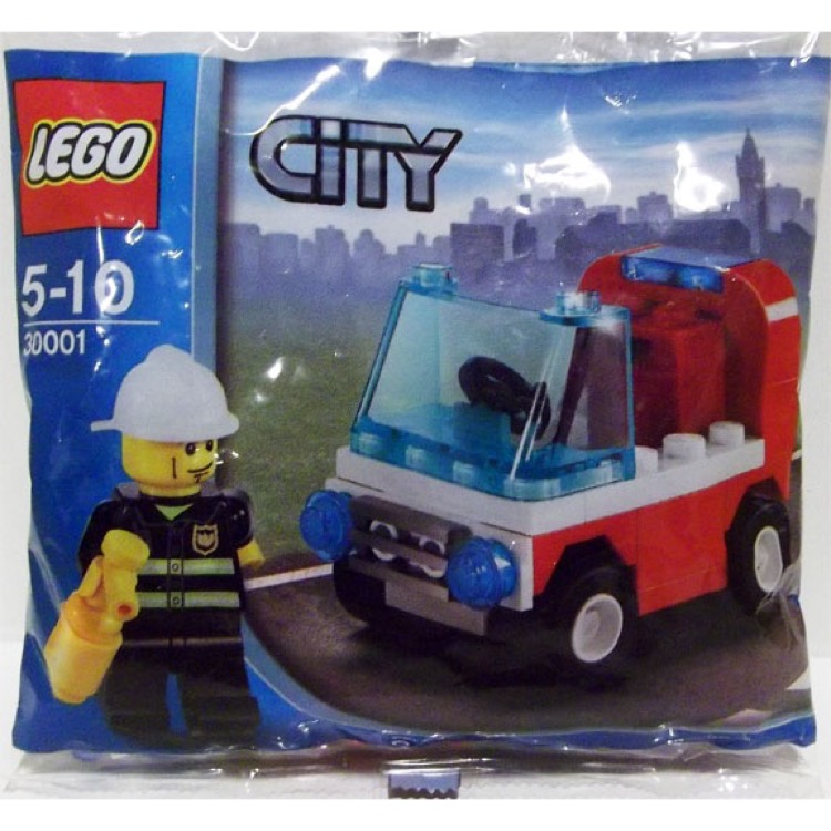 LEGO Town Sets: City 30001 Fireman's Car NEW