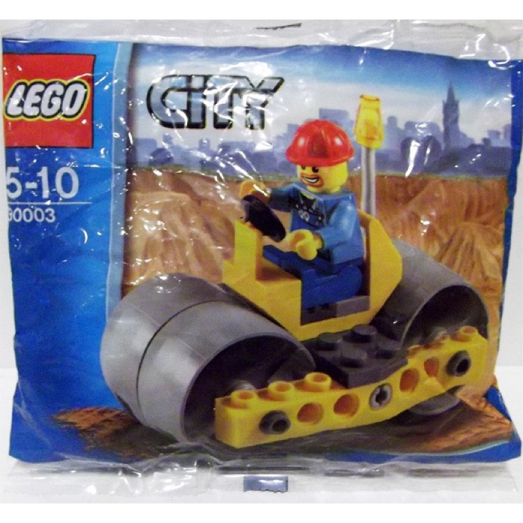 LEGO Town Sets: City 30003 Road Roller NEW
