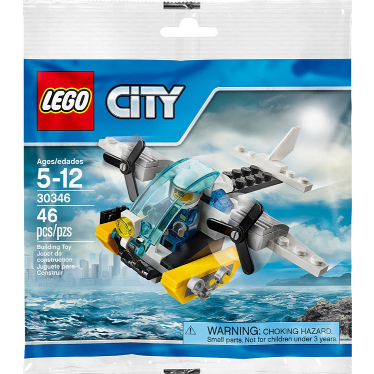 LEGO Town Sets: City 30346 Prison Island Helicopter NEW