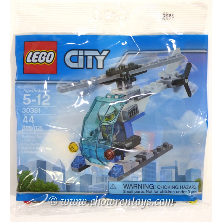 LEGO Town Sets: City 30351 Police Helicopter NEW