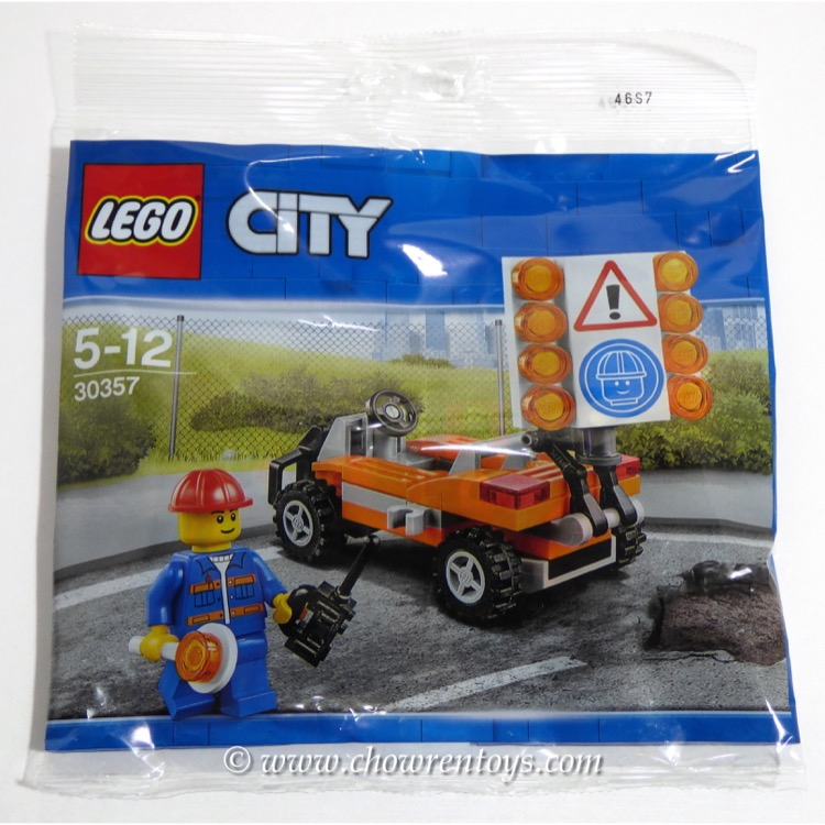 LEGO Town Sets: City 30357 Road Worker NEW