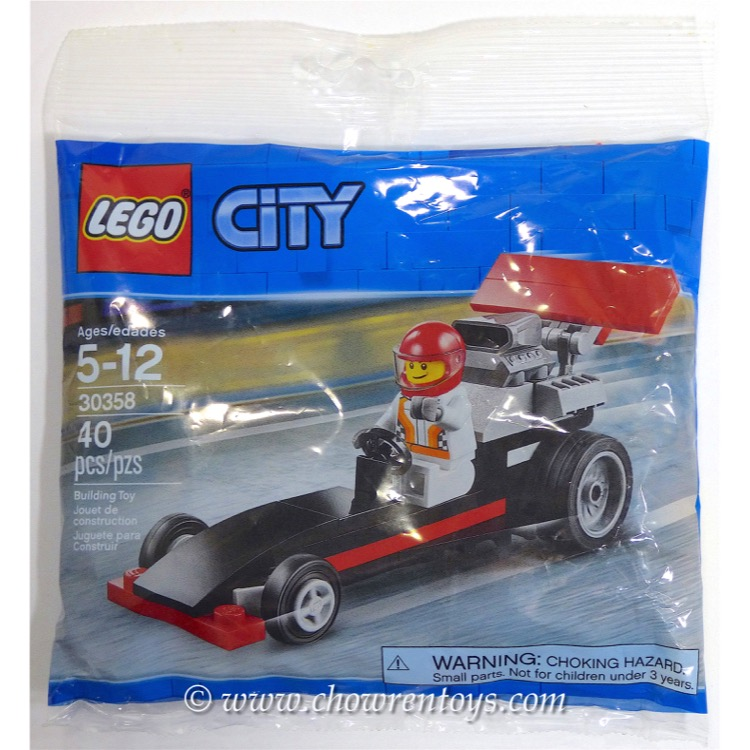 LEGO Town Sets: City 30358 Dragster NEW