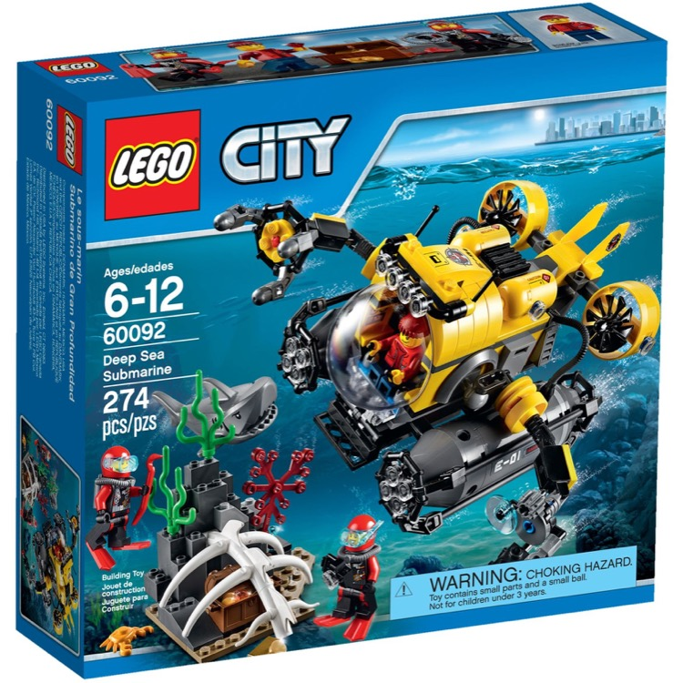 LEGO Town Sets: City 60092 Deep Sea Submarine NEW