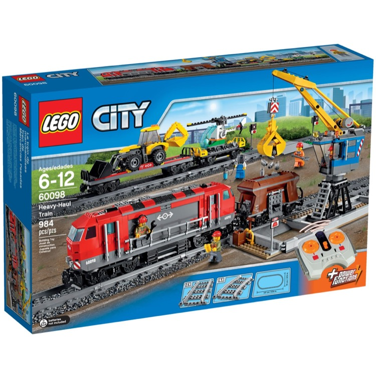 LEGO Town Sets: City 60098 Heavy-Haul Train NEW