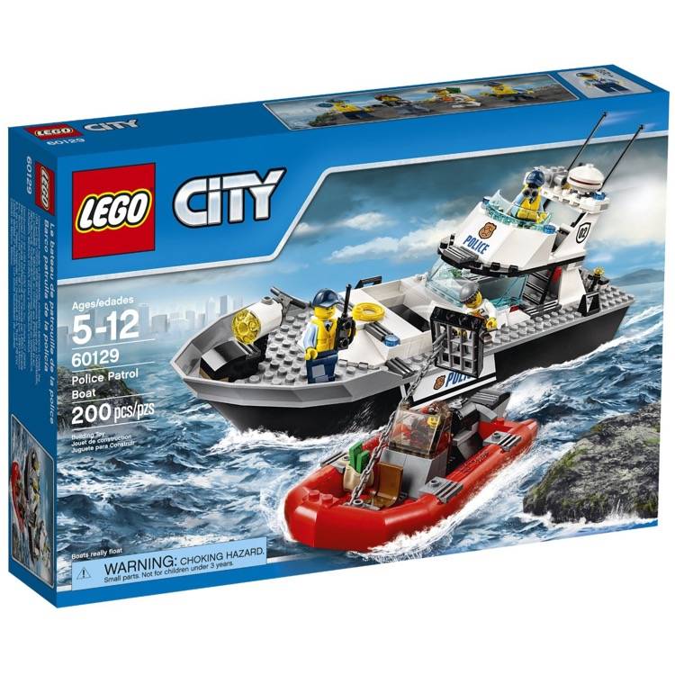 LEGO Town Sets: City 60129 Police Patrol Boat NEW