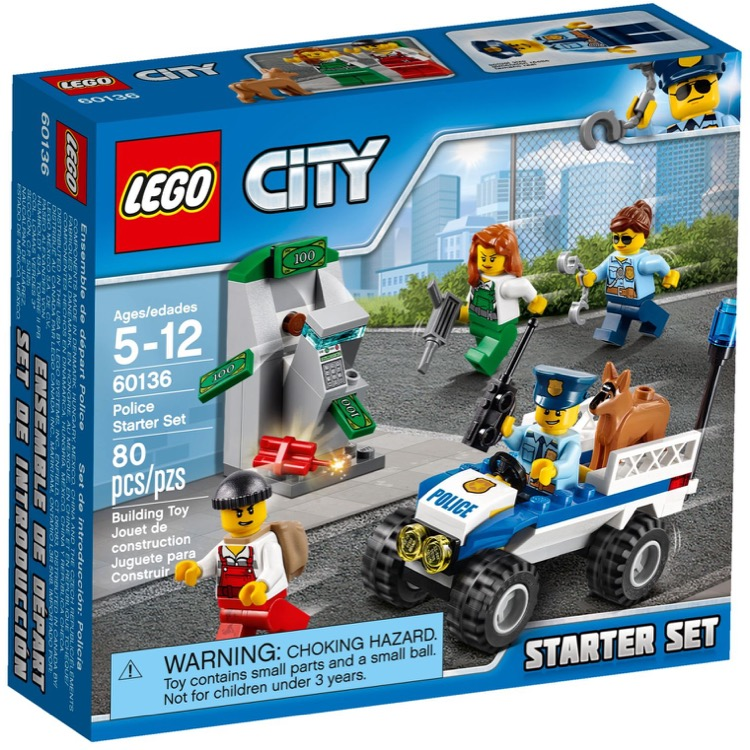 LEGO Town Sets: City 60136 Police Starter Set NEW