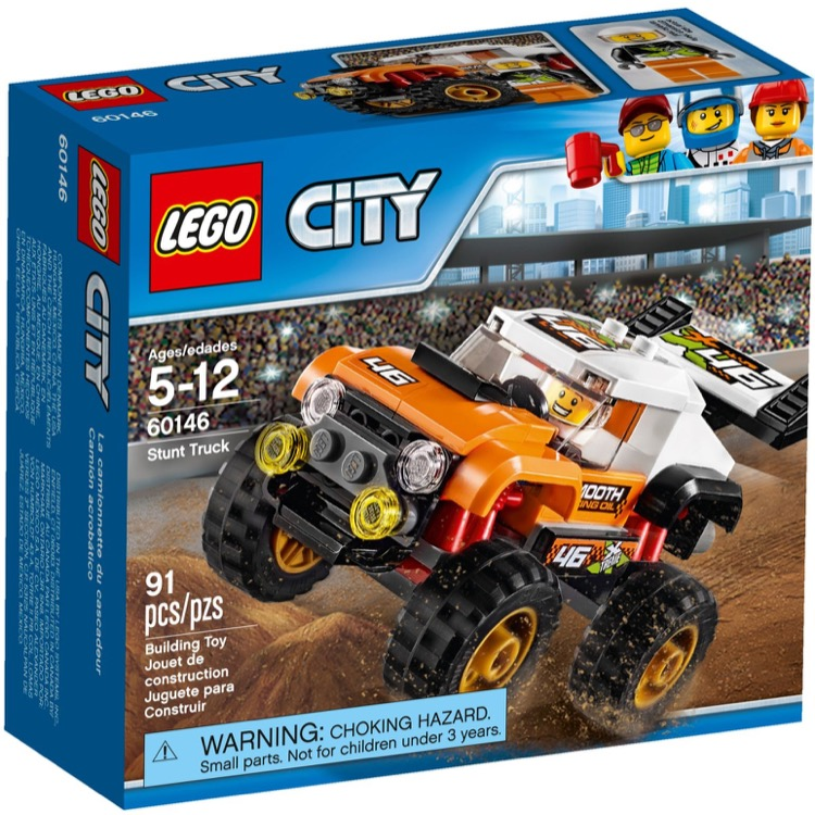 LEGO Town Sets: City 60146 Stunt Truck NEW