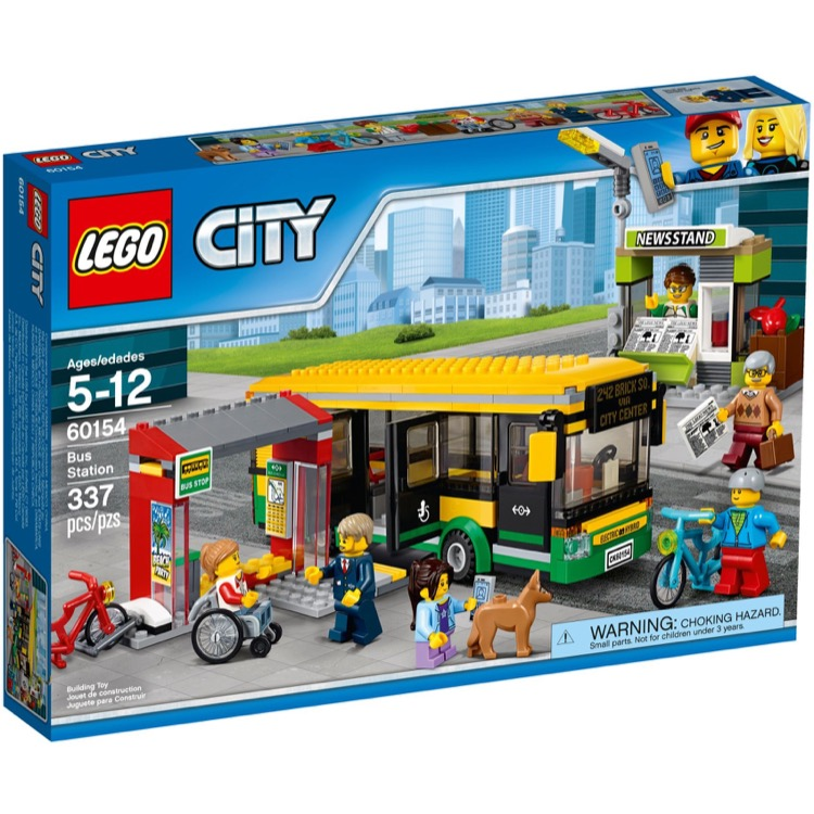 LEGO Town Sets: City 60154 Bus Station NEW