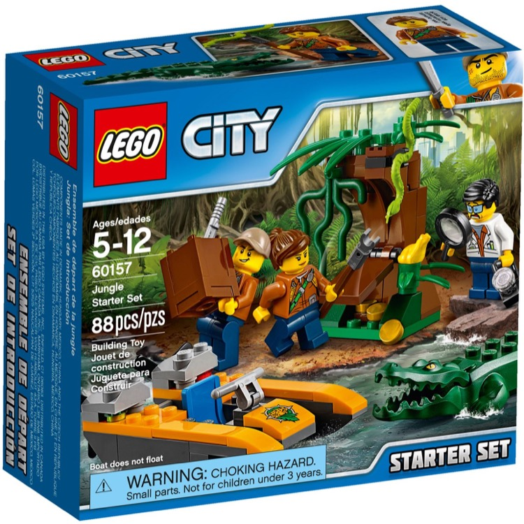 LEGO Town Sets: City 60157 Jungle Starter Set NEW