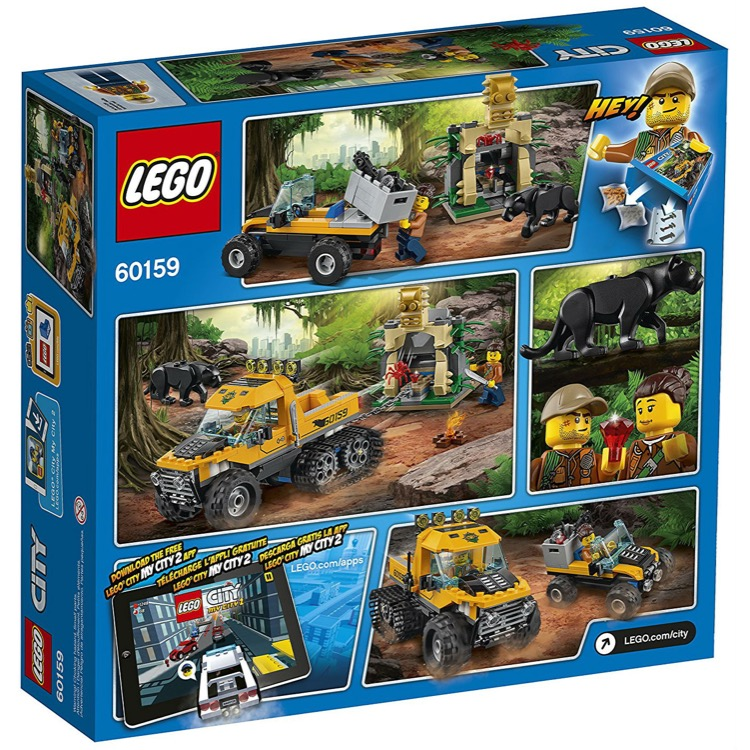 LEGO Town Sets: City 60159 Jungle Halftrack Mission NEW