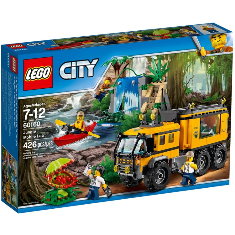 LEGO Town Sets: City 60160 Jungle Mobile Lab NEW