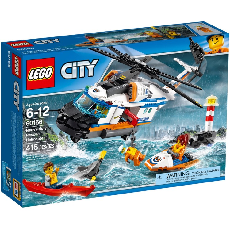 LEGO Town Sets: City 60166 Heavy-Duty Rescue Helicopter NEW