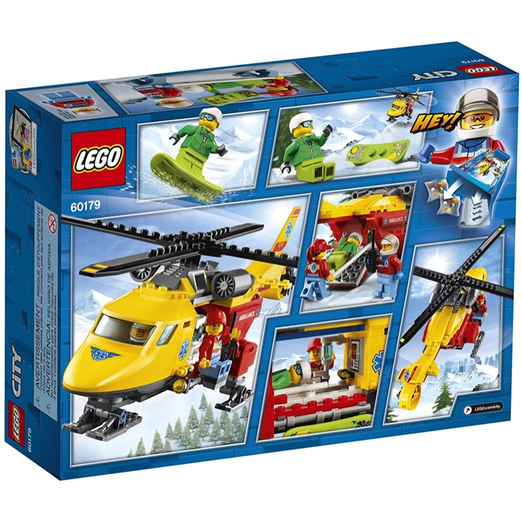 LEGO Town Sets: City 60179 Ambulance Helicopter NEW