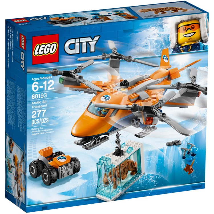 LEGO Town Sets: City 60193 Arctic Air Transport NEW