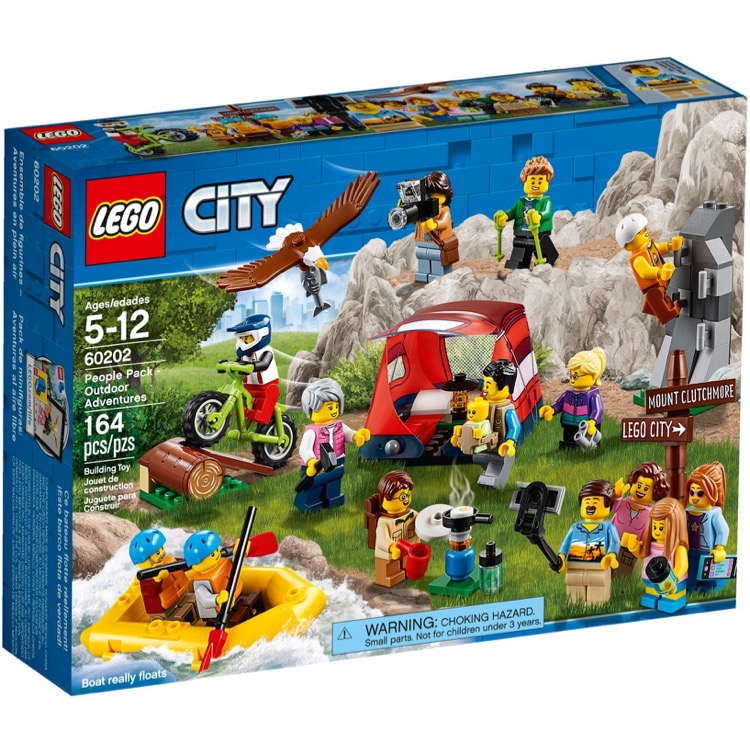 LEGO Town Sets: City 60202 People Pack - Outdoor Adventures NEW