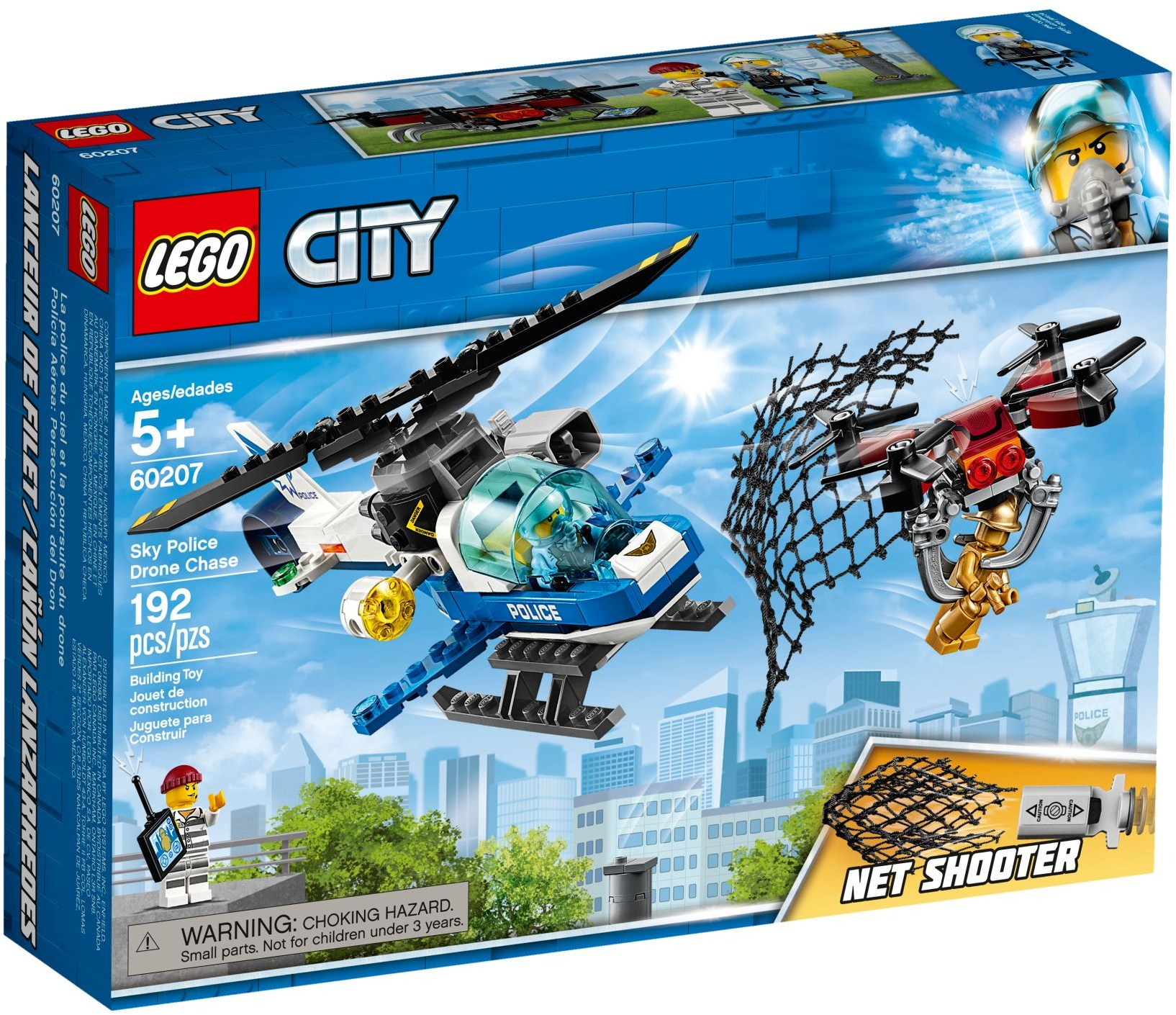 LEGO Town Sets: 60207 City Drone Chase NEW