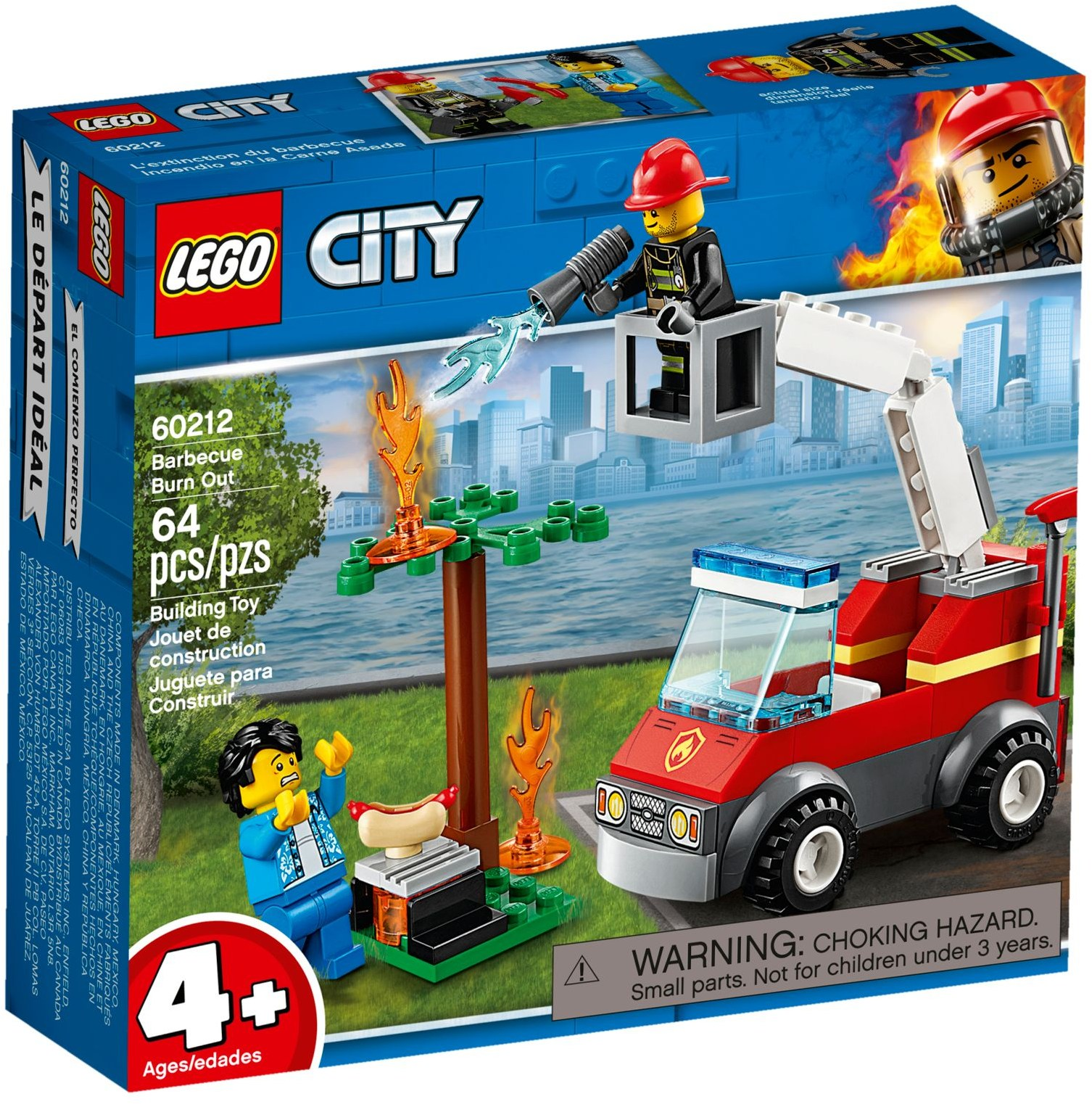 LEGO Town Sets: 60212 City Barbecue Burn Out NEW