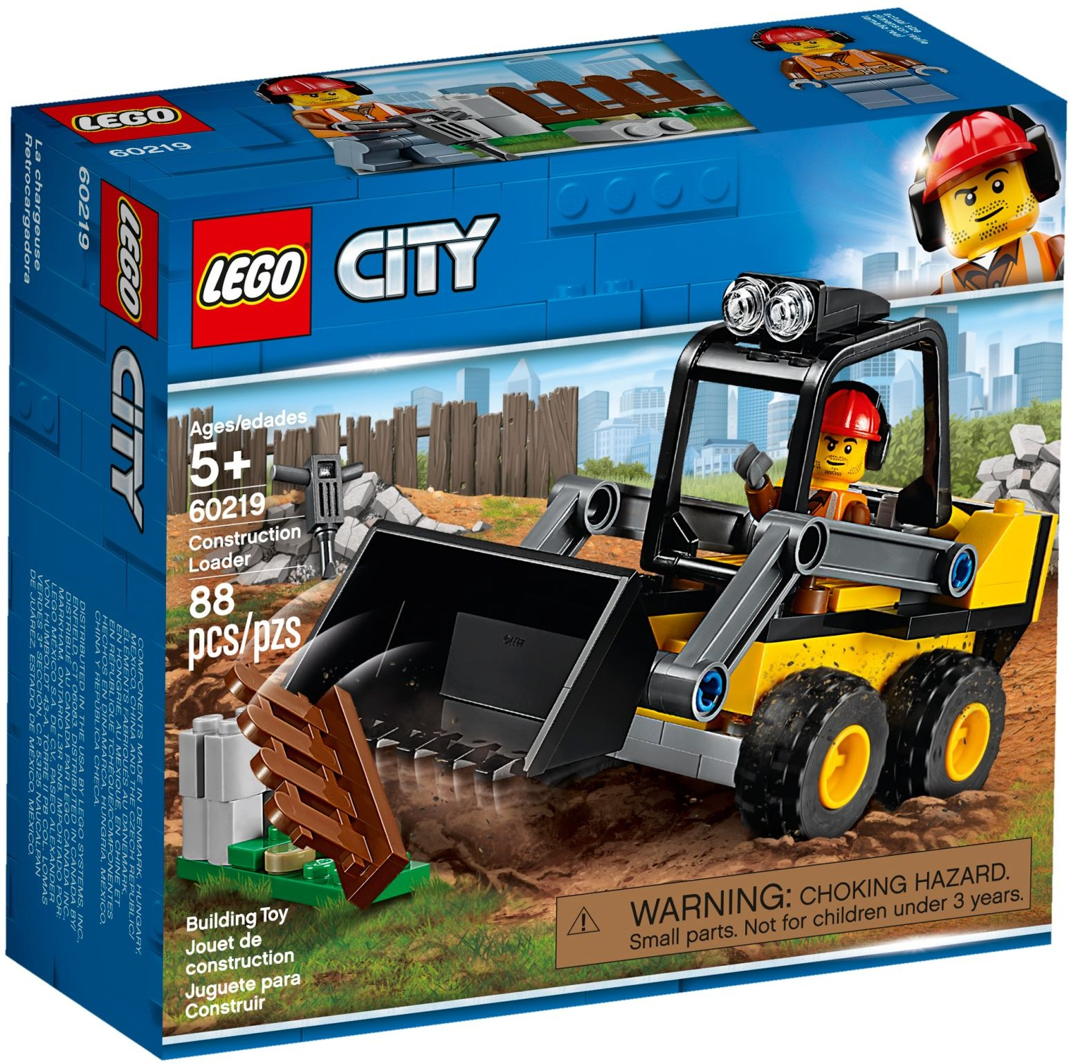 LEGO Town Sets: 60219 City Construction Loader NEW