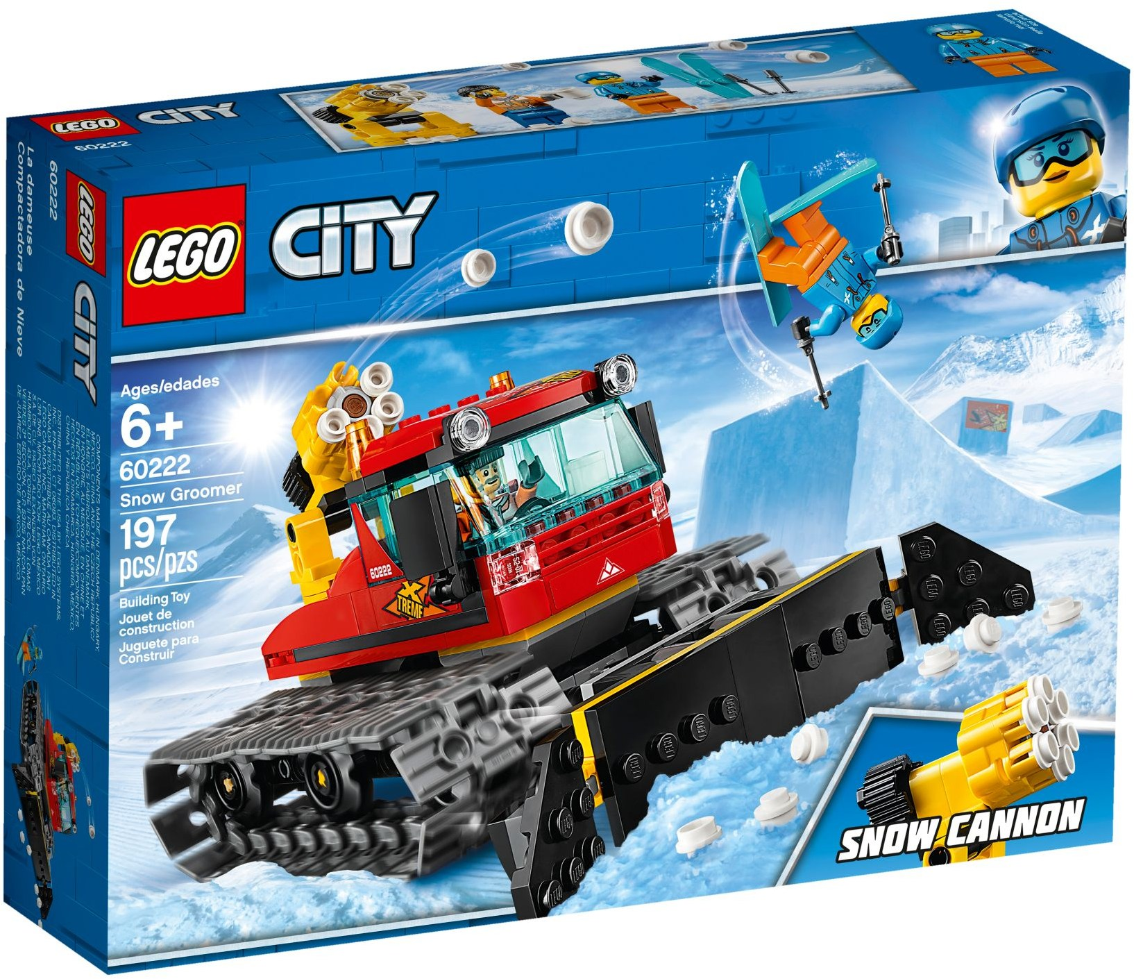 LEGO Town Sets: 60222 City Snow Groomer NEW
