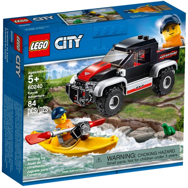 LEGO Town Sets: 60240 City Kayak Adventure NEW