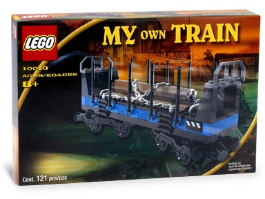 LEGO Trains Sets: LEGO Train Cars 9V 10013 Open Freight Wagon NEW