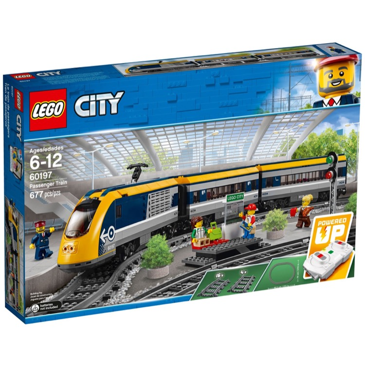 LEGO Trains Sets: Remote Control 60197 Passenger Train NEW