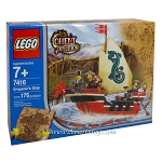 LEGO Adventurers Sets: Orient Expedition China 7416 Emperor's Ship NEW