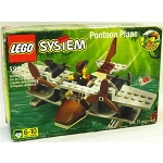 LEGO Adventurers Sets: Amazon 5925 Pontoon Plane NEW *Rough Shape*
