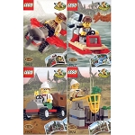LEGO Adventurers Sets: Dino Island Combo Sets 5911 5912 5913 5914 NEW
