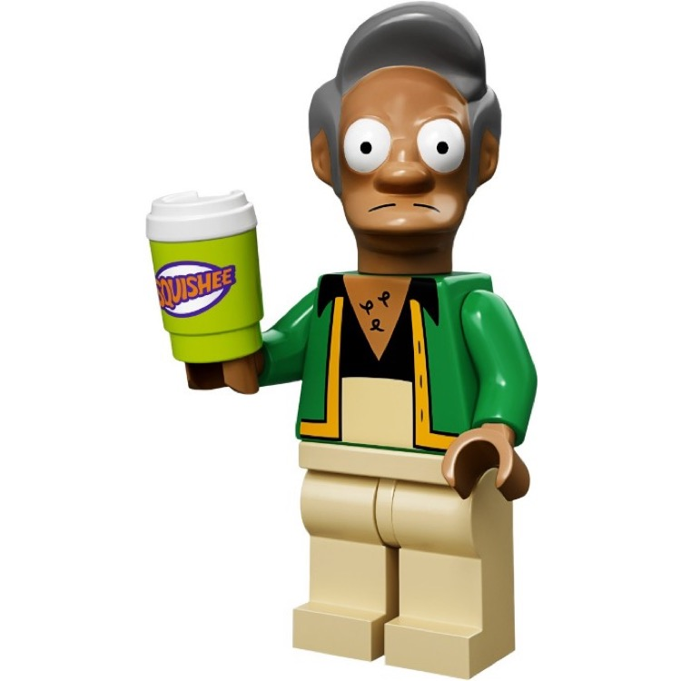 LEGO Collectible Minifigures: 71005 The Simpsons Series Apu Nahasapeemapetilon NEW
