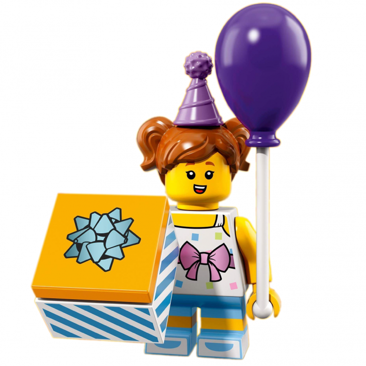 LEGO Collectible Minifigures: 71021 Series 18 Birthday Party Girl NEW