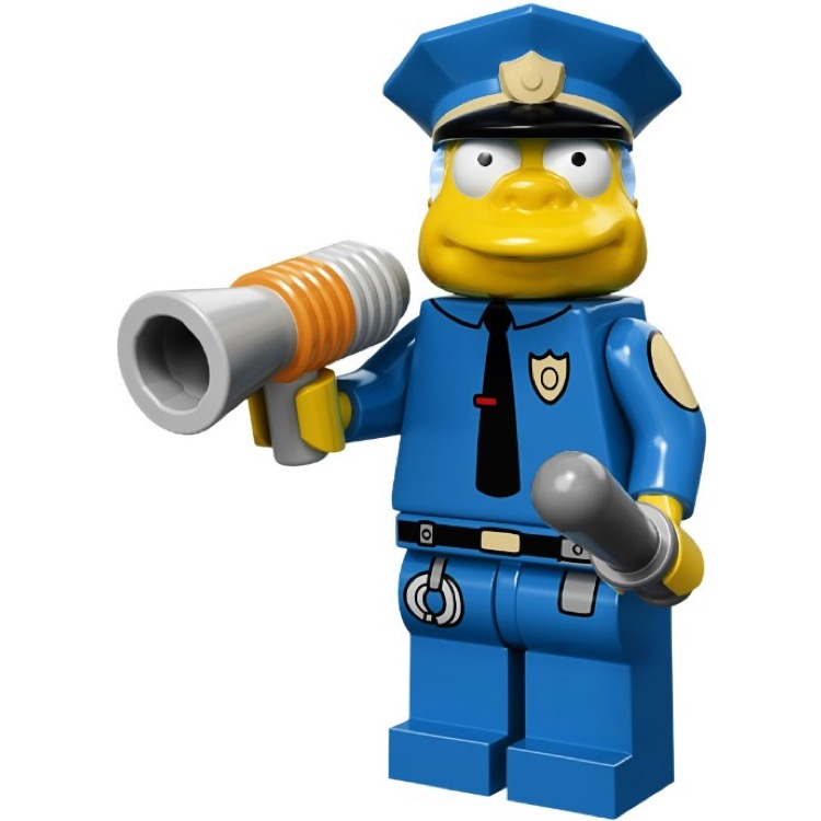 LEGO Collectible Minifigures: 71005 The Simpsons Series Chief Wiggum NEW