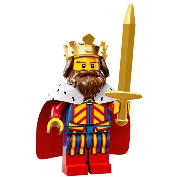 LEGO Collectible Minifigures: 71008 Series 13 Classic King NEW