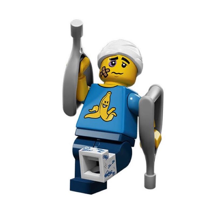 LEGO Collectible Minifigures: 71011 Series 15 Clumsy Guy NEW