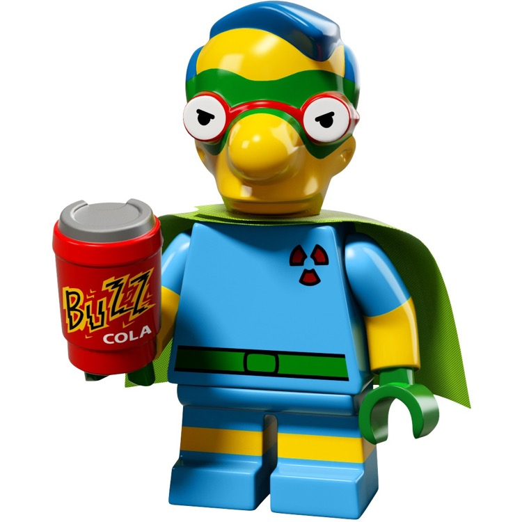 LEGO Collectible Minifigures: 71009 The Simpsons Series 2 Fallout Boy Milhouse NEW