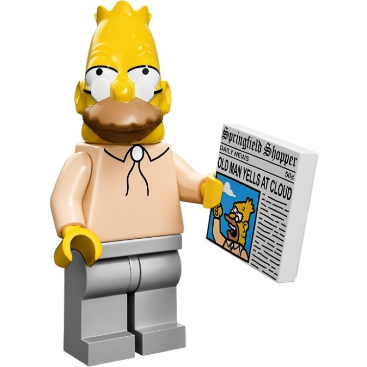 LEGO Collectible Minifigures: 71005 The Simpsons Series Grampa Simpson NEW